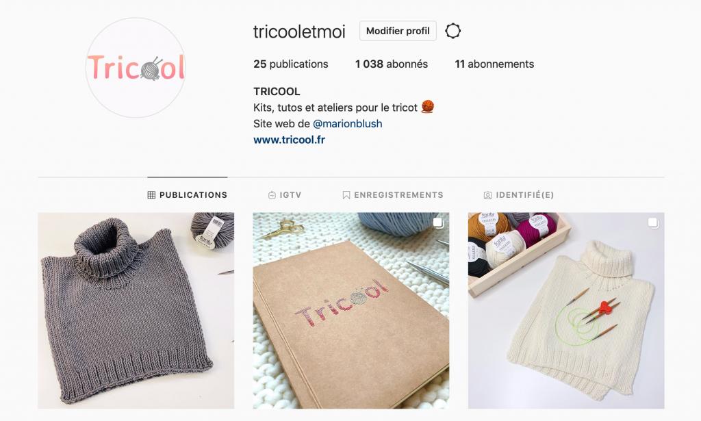 instagram @tricooletmoi