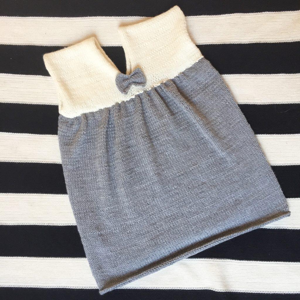 robe tricotée 2 ans